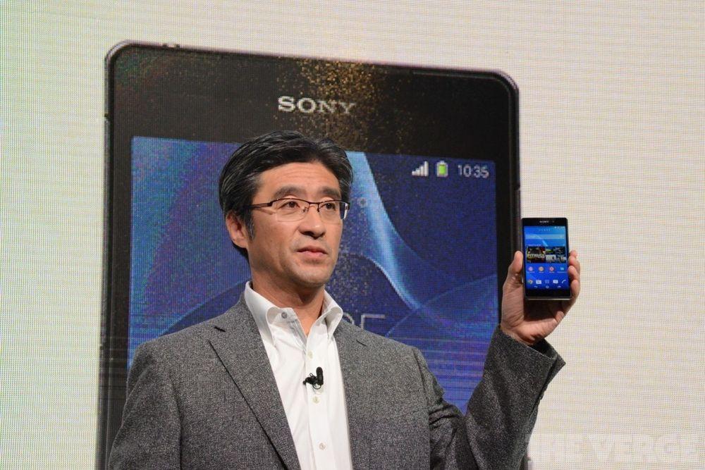 Outgoing Sony mobile chief Kunimasa Suzuki