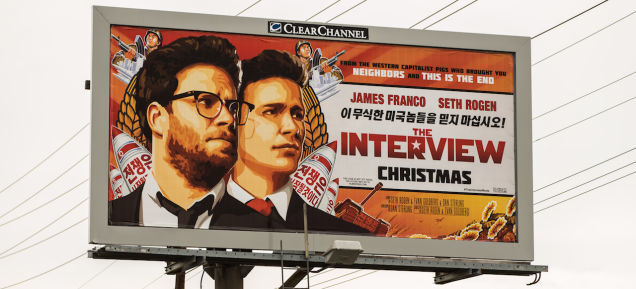 the interview movie sony